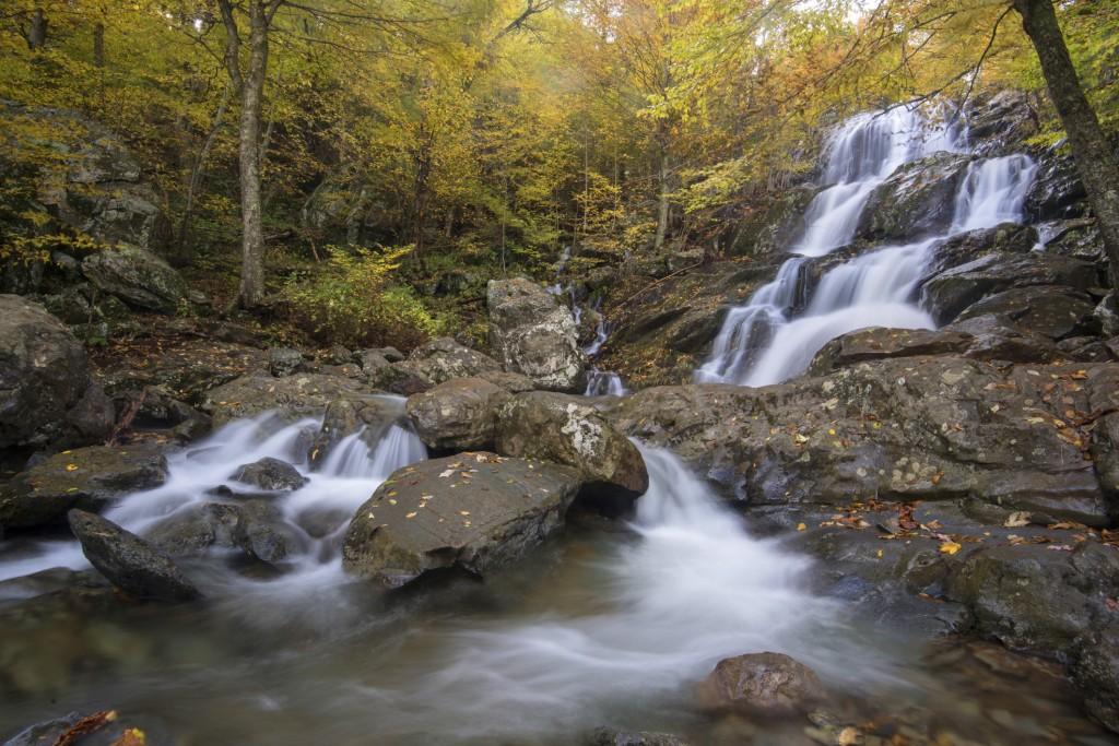 Waterfalls near Charlottesville VA