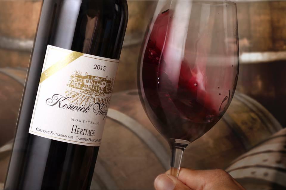 image keswick wine bottle winemaker's dinner