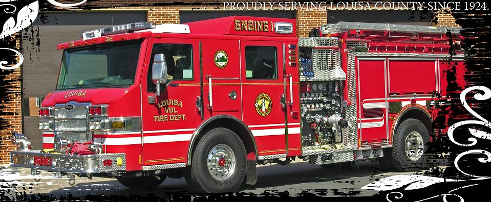 image of Louisa, Virginia firetruck
