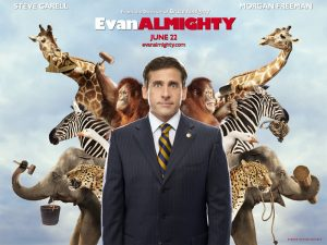 Image of Evan Almighty movie which was filmed in Charlottesville, Virginia