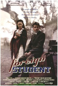 Image of Foreign Student movie which was filmed near Prospect Hill in Louisa, Virginia
