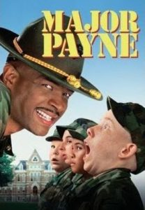 Image of Major Payne movie which was filmed in Charlottesville, Virginia