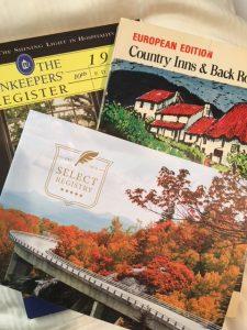 photo of innkeeping guidebooks