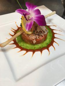 image of crab salad charlottesville's most-romantic valentine's dinner