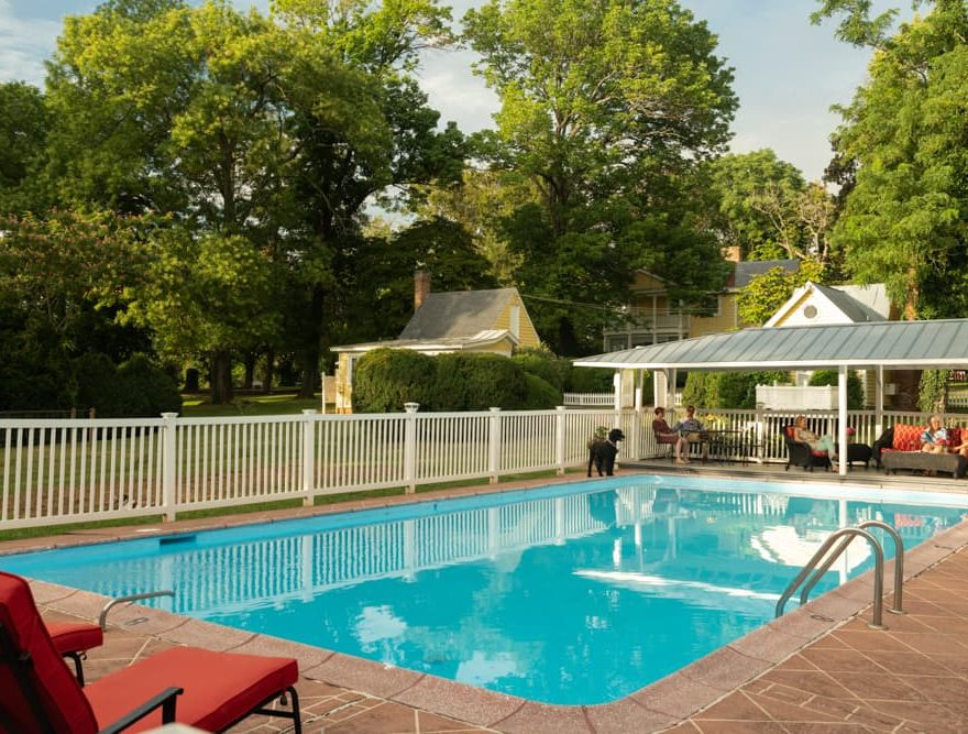 Swimming pool at Prospect Hill Inn