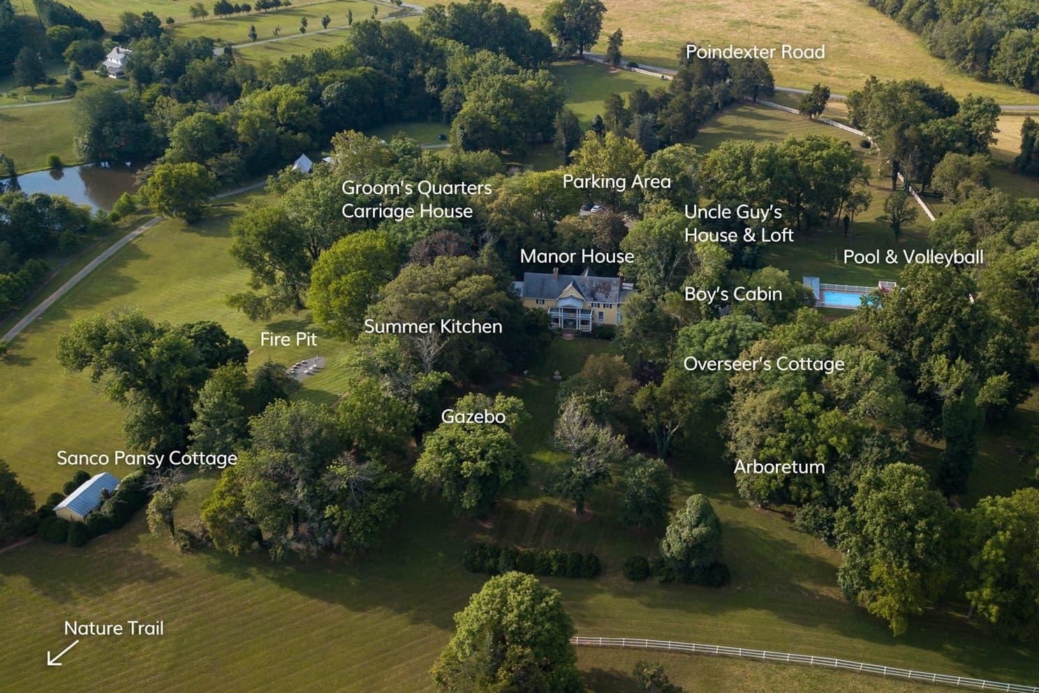 Prospect Hill Inn property map