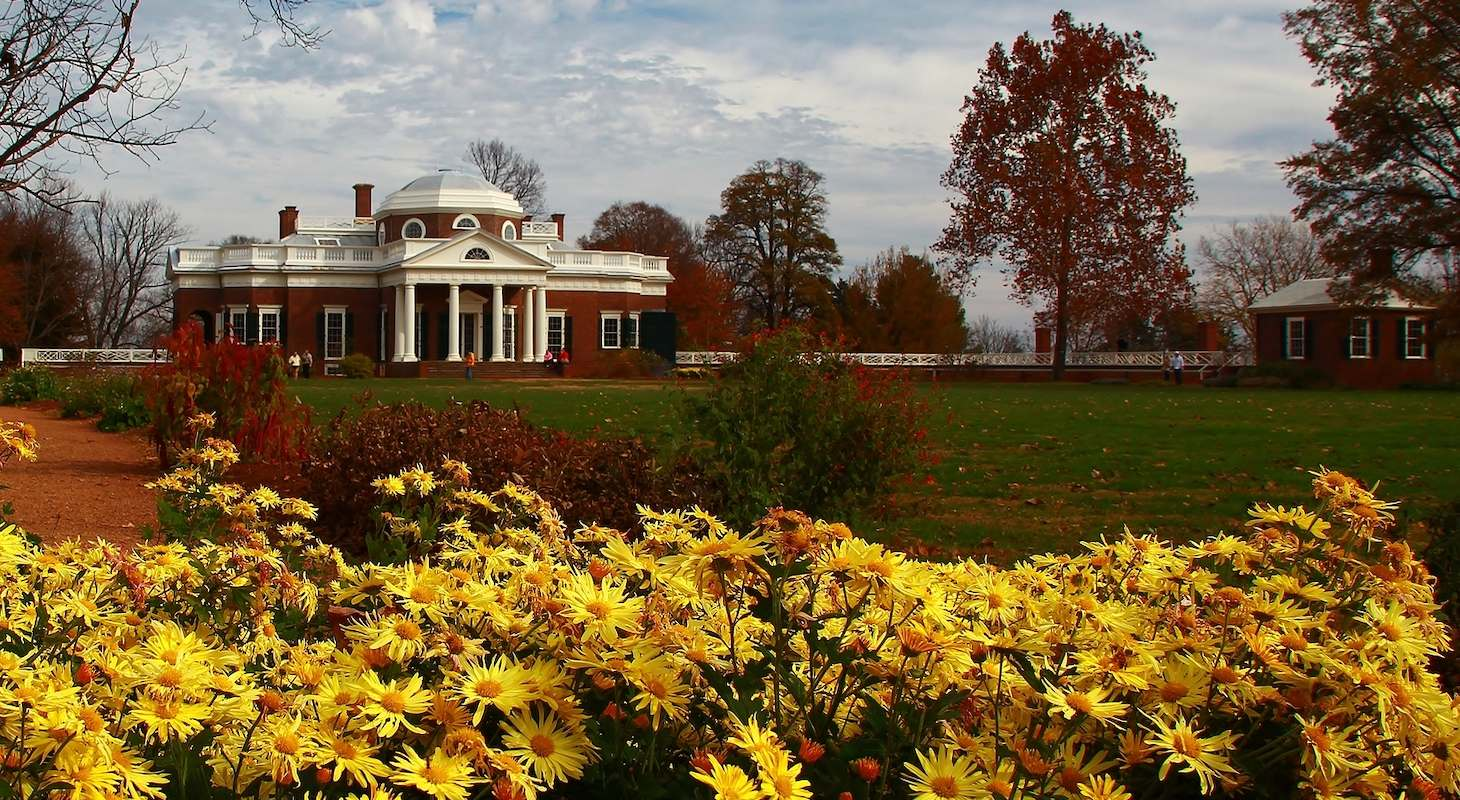 Monticello, part of a Charlottesville vacation itinerary