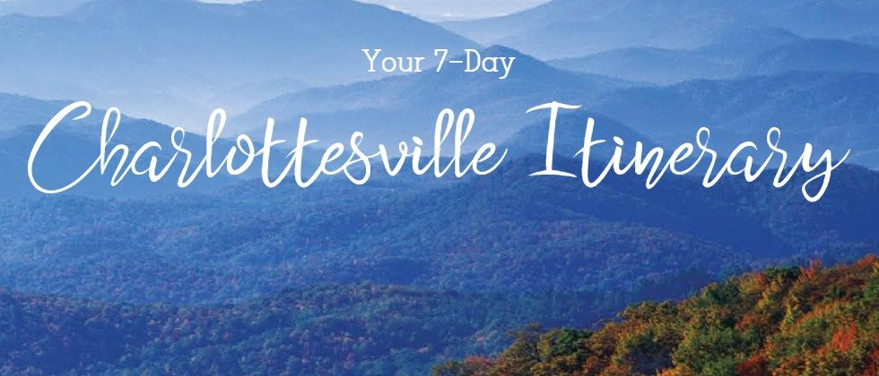 image of blue ridge mountains with text